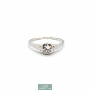 Szoliter gyűrű gyémánttal