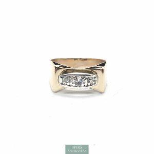 Magyart art deco gyűrű