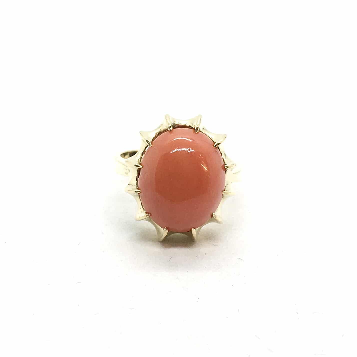 2950. Arany Gyűrű Korallal