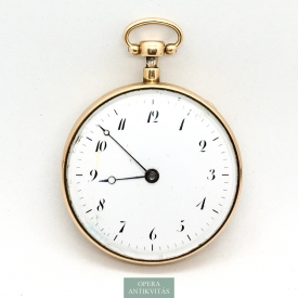 1124. Antique Gold Pocket Watch